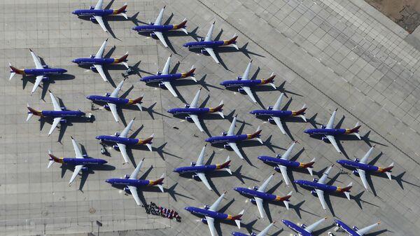 Самолеты Boeing 737 MAX в аэропорту Южной Калифорнии. Архивное фото