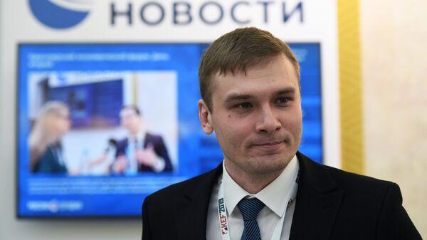 Глава Республики Хакасия Валентин Коновалов на Красноярском экономическом форуме 2019