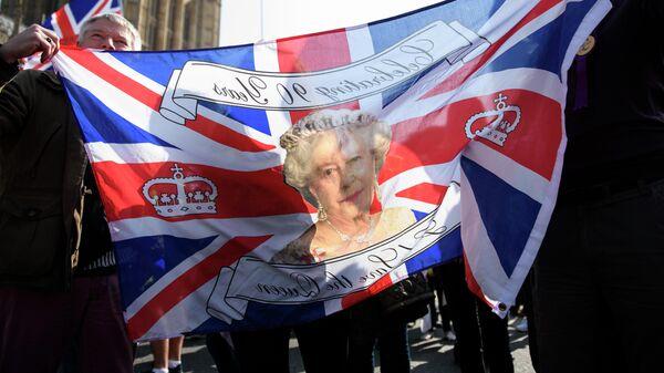 Участники акции сторонников Brexit в Лондоне