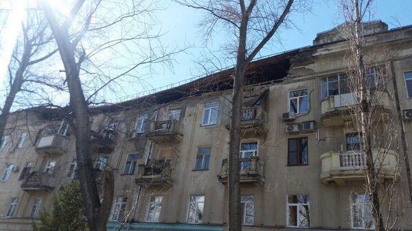 Обрушение кирпичной кладки многоквартирного дома в Саратове. 30 марта 2019