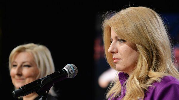 Адвокат, заместитель председателя внепарламентской либеральной партии Прогрессивная Словакия Зузана Чапутова