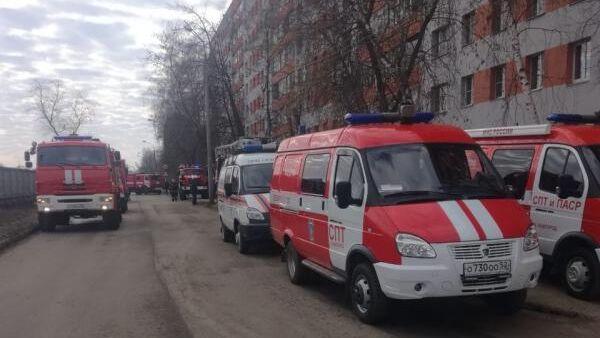 Пожар в квартире в Автозаводском районе в Нижнем Новгороде. 31 марта 2019