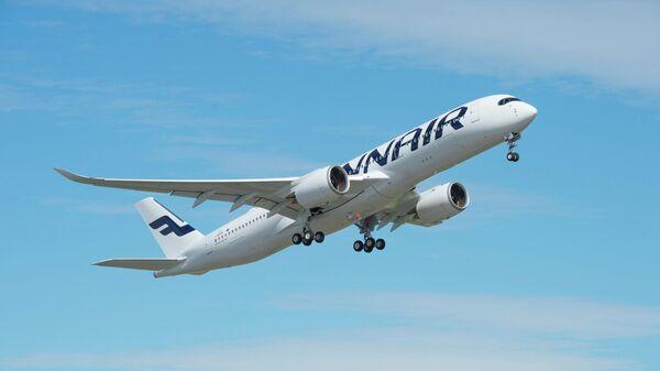 Самолет авиакомпании Finair