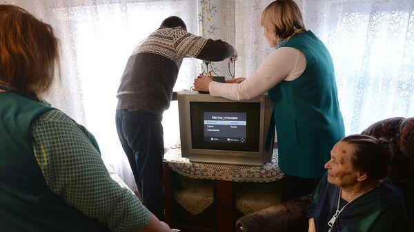 Волонтеры Победы настроят цифровое телевидение более 30 тысячам ветеранов