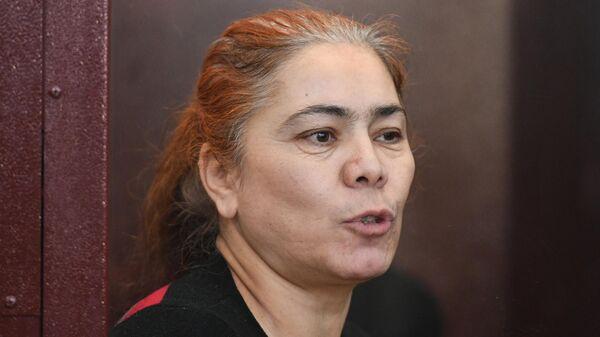 Шохиста Каримова, обвиняемая по делу об организации теракта в петербургском метро 3 апреля 2017 года, в суде