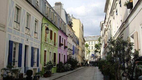 Rue Crémieux в Париже, Франция