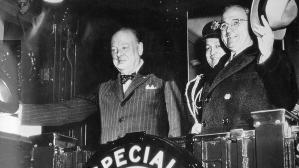 Фултонская речь Уинстона Черчилля