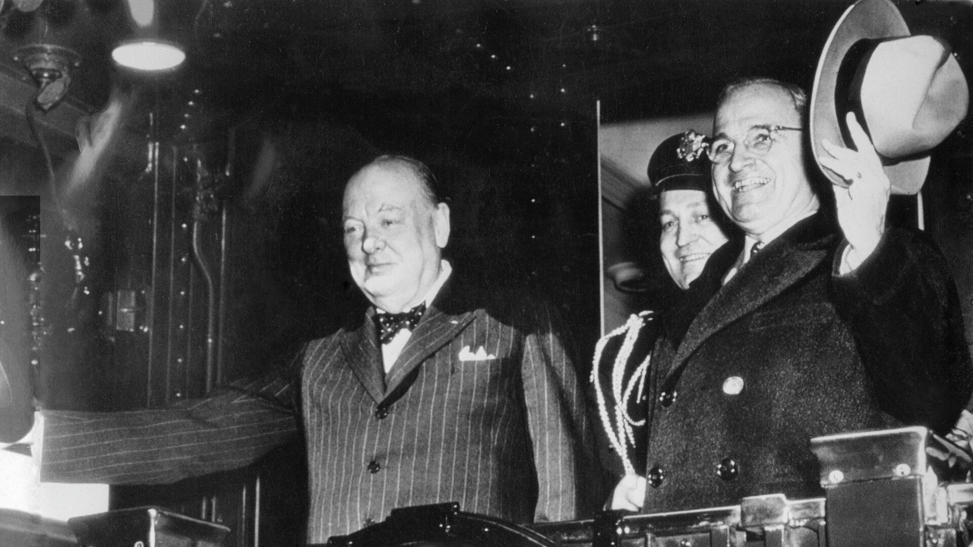 Фултонская речь Уинстона Черчилля - РИА Новости, 1920, 08.03.2021