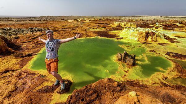 Эфиопия. Вулкан Даллол
