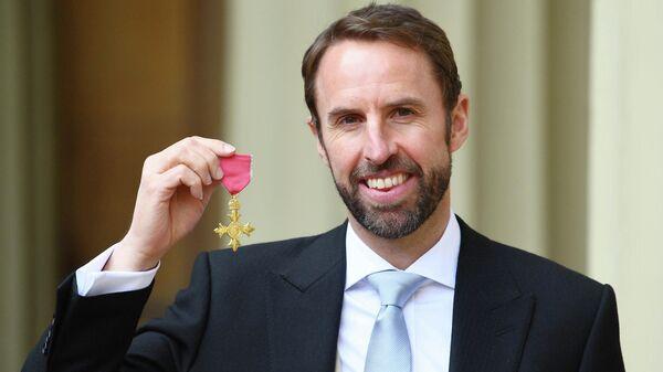 Гарет Саутгейт с Орденом Британской империи