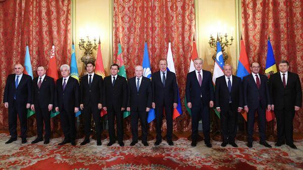 Заседание Совета министров иностранных дел СНГ
