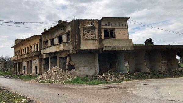 Разрушенная Эль-Кунейтра