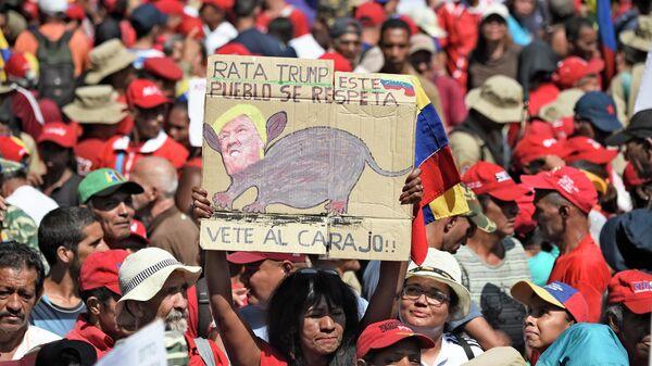 Более 5 миллионов человек вышли на улицы по всей Венесуэле, чтобы поддержать власти страны