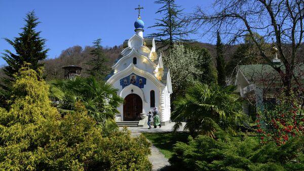 Храм иконы Богоматери Утоли моя печали в Троице-Георгиевском женском монастыре