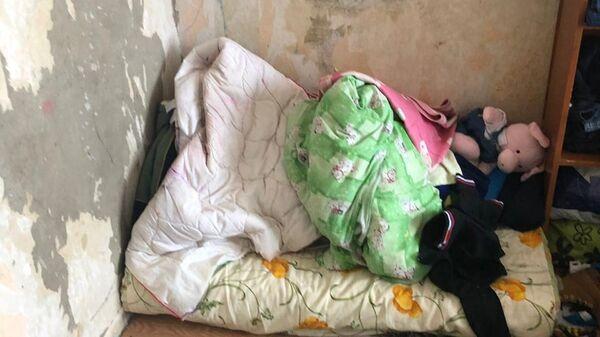 Квартира в доме по улице Летная в городе Мытищи, в которой проживают четверо детей в возрасте от 2 до 8 лет