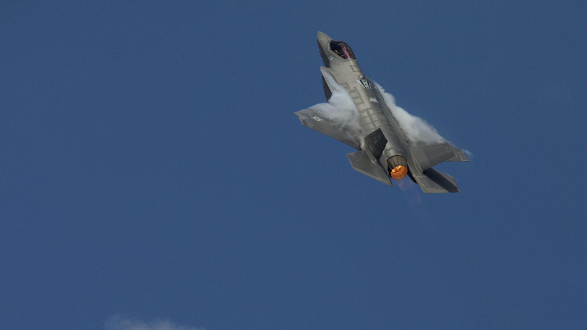 Истребитель F-35А - РИА Новости, 1920, 04.06.2021