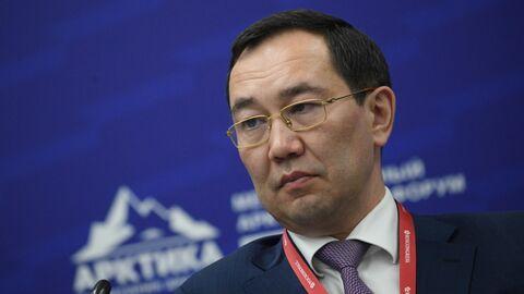 Глава Республики Саха Айсен Николаев