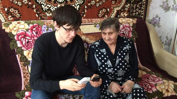 Михаил Косарев и Мария Павловна Анисина