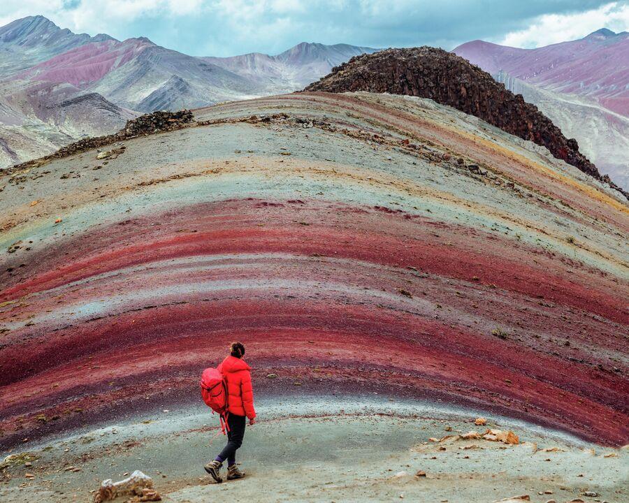 Перу. Радужная гора Виникунка