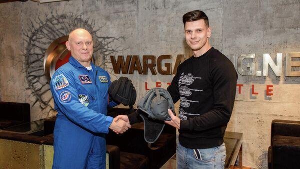 Игроков World of Tanks поздравили с Днем космонавтики прямо с борта МКС