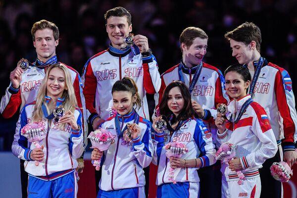 Российские фигуристы