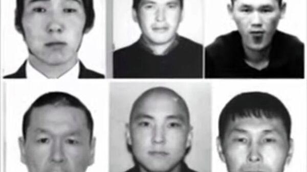 Фотографии сбежавших заключенных из изолятора временного содержания в Тыве