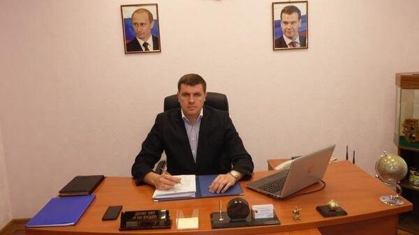 Глава Расковского муниципального образования Александр Зотов