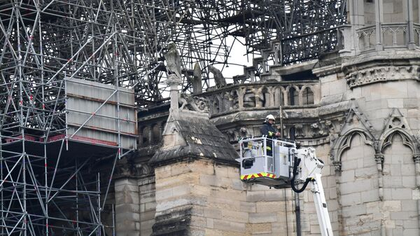Нотр-Дам надо восстановить за три года, заявил экс-министр культуры Франции