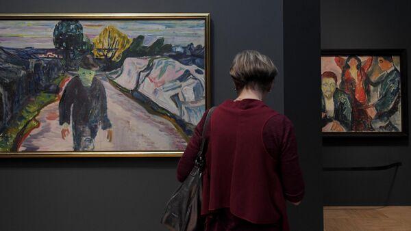 Выставка Эдвард Мунк в Третьяковской галерее