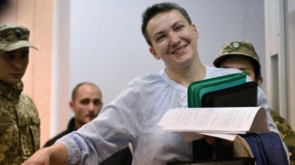 Депутат Верховной рады Украины Надежды Савченко