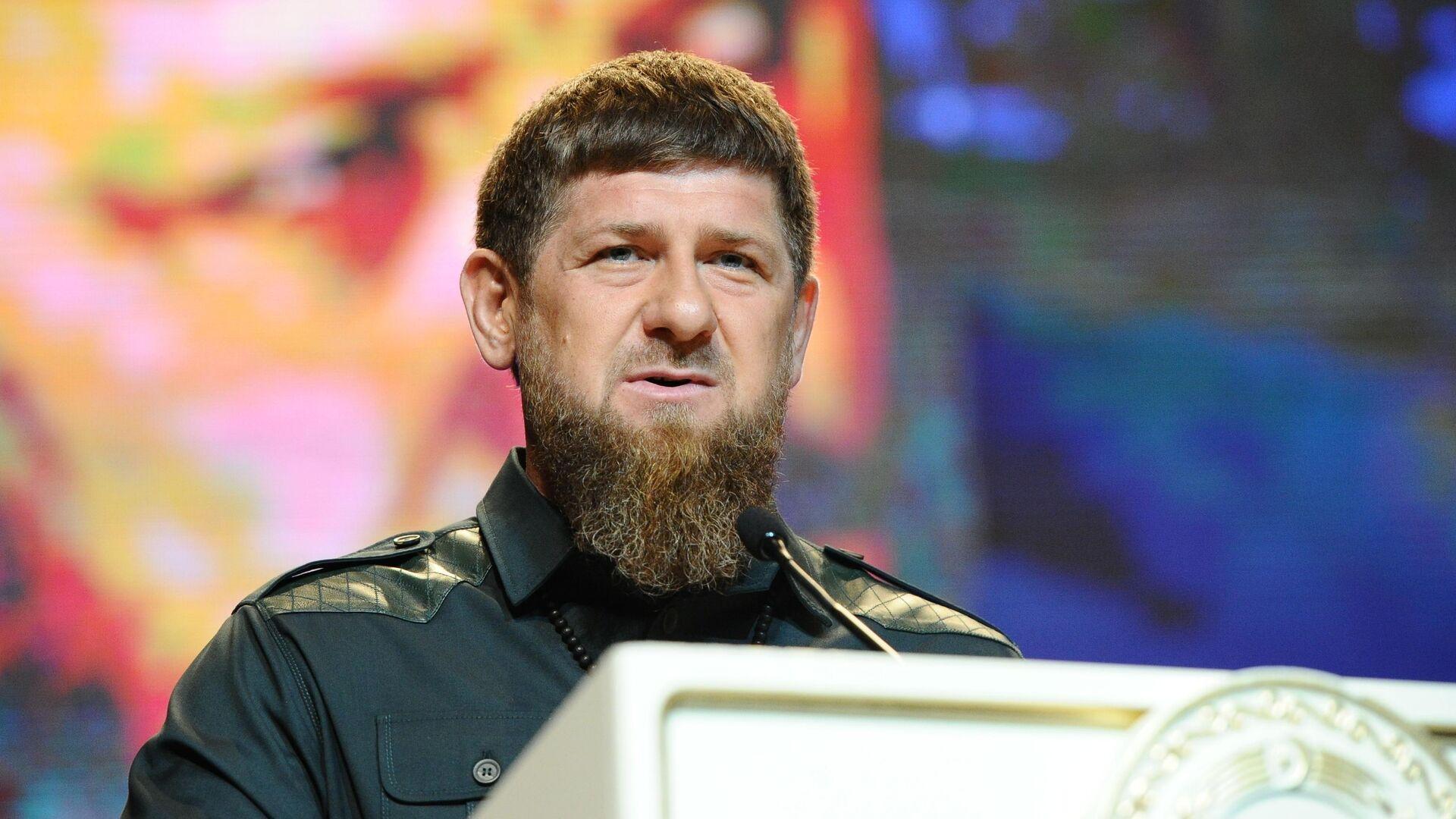 Глава Чеченской Республики Рамзан Кадыров - РИА Новости, 1920, 23.07.2020