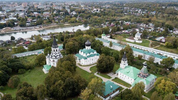 Александровский кремль в городе Александров Владимирской области.