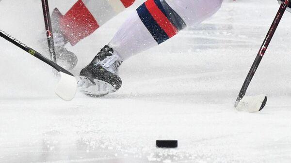 Хоккей. КХЛ. Матч  Авангард - ЦСКА