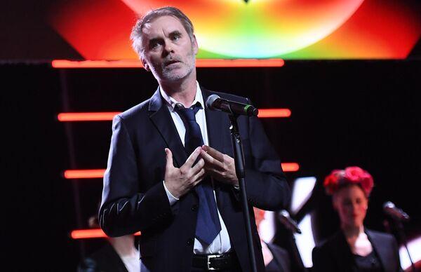 Французский режиссёр Жан-Франсуа Рише на торжественной церемонии открытия 41-го Московского Международного кинофестиваля (ММКФ)