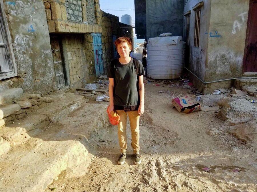 Разрушенный старый город, Хауф, Йемен