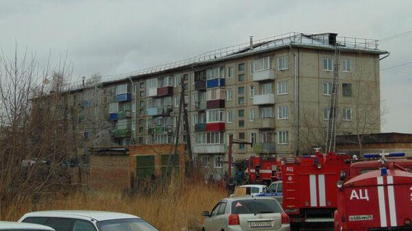 Пожар в жилом доме в городе Канске, Красноярского края. 19 апреля 2019