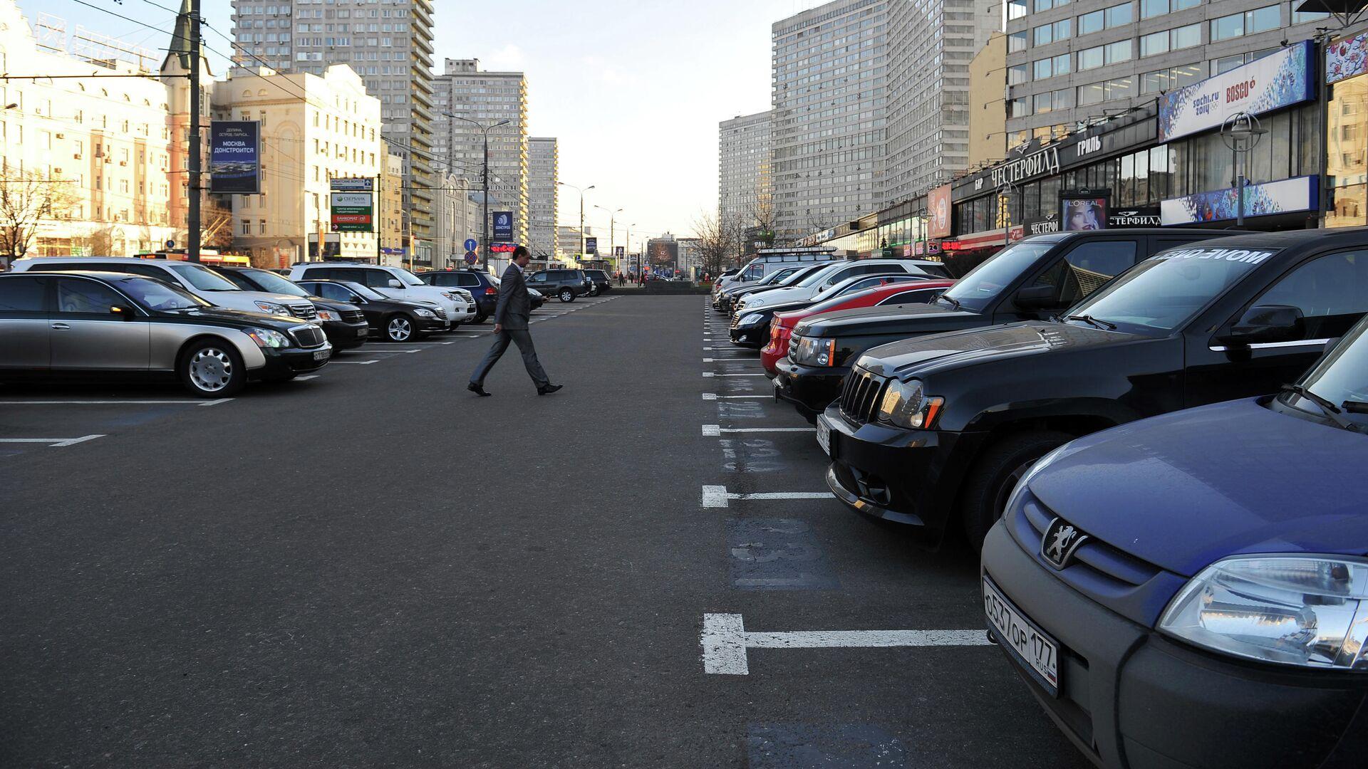Открытие комплекса парковок на Новом Арбате - РИА Новости, 1920, 30.09.2020