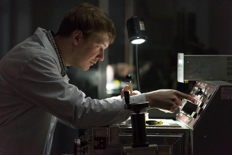 В лаборатории НИТУ МИСиС