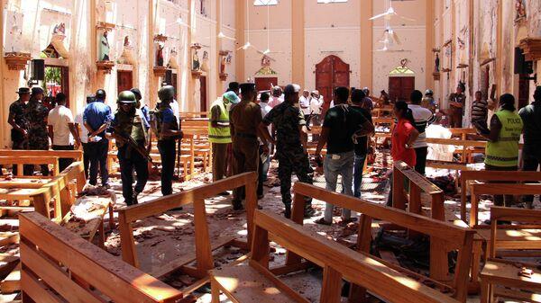 Шри-Ланке устроили кровавую Пасху