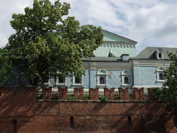 Часть Китайгородской стены