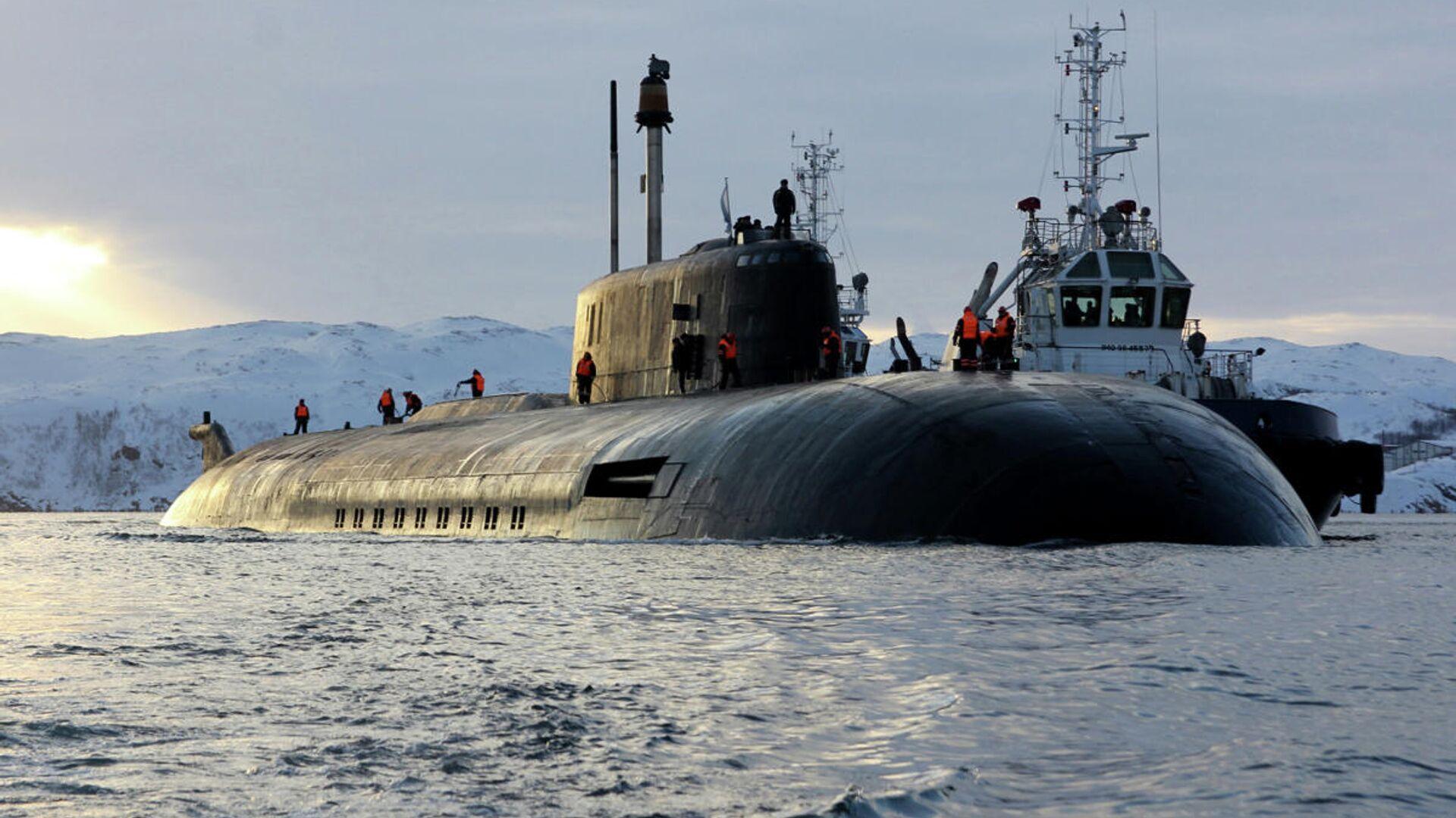 Атомный подводный ракетный крейсер Северного флота Орёл - РИА Новости, 1920, 05.08.2021