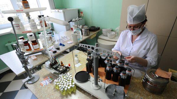 Изготовление лекарств в Тамбовской детской клинической больнице