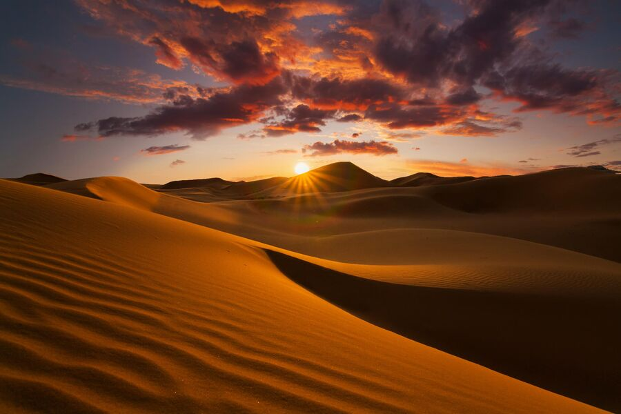 Монголия, пустыня Гоби