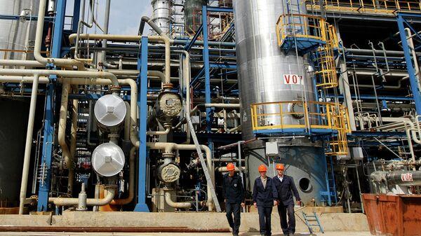 Нефтеперерабатывающий завод Нафтан в Новополоцке