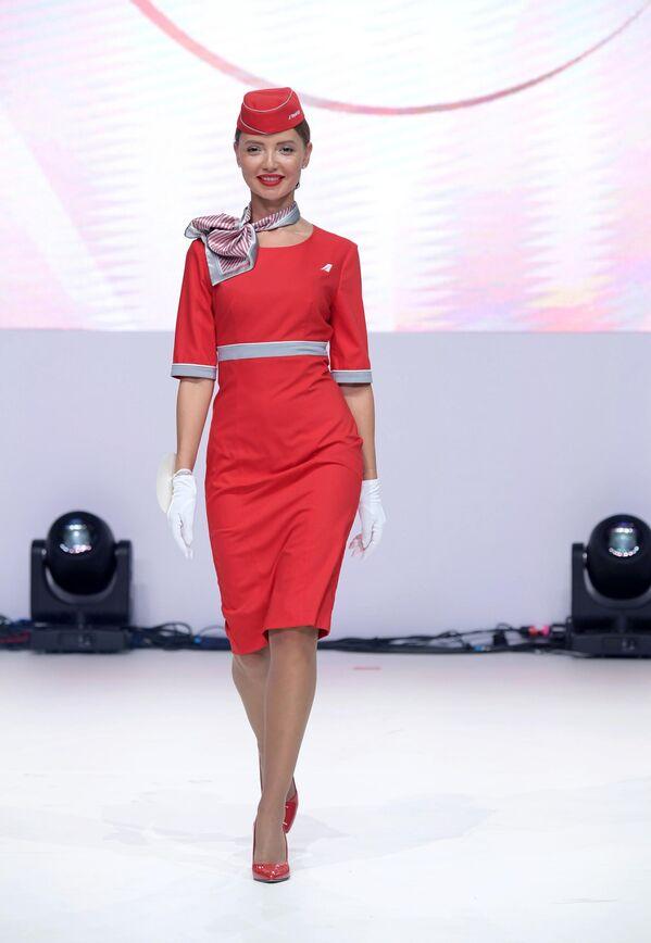 Участница конкурса красоты Sky Lady 2019 в Москве