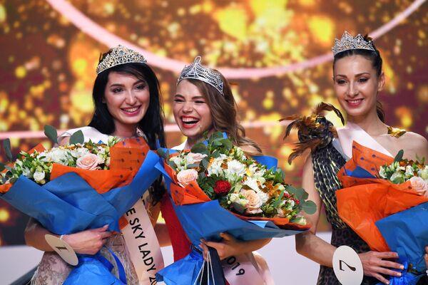 Победительницы конкурса Sky Lady 2019