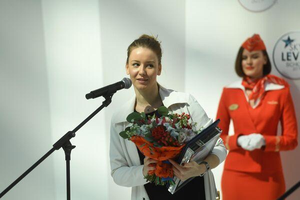 Ирина Старшенбаум получила приз как самая летающая актриса