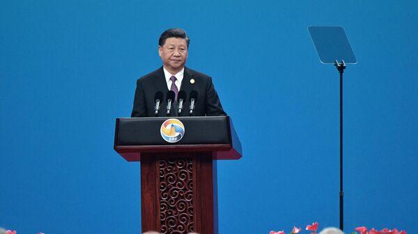 Си Цзиньпин выступает на форуме Один пояс - один путь 26 апреля 2019 года