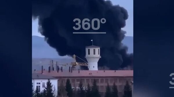 пожар в одном из цехов завода Красмаш