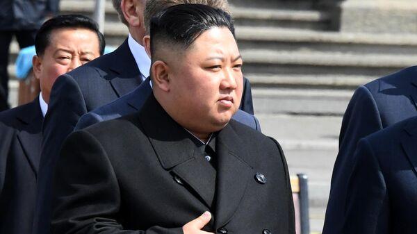 Лидер КНДР Ким Чен Ына во Владивостоке